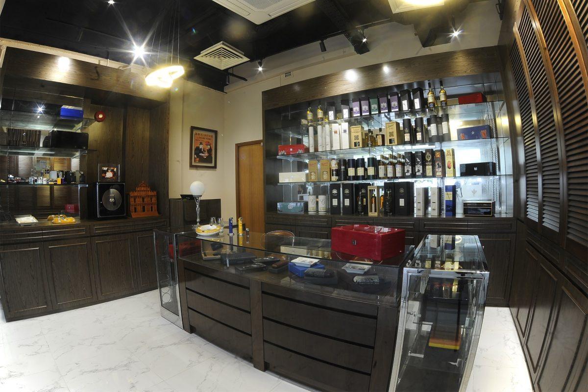 The Pacific Cigar Company Singapore Retail Shop